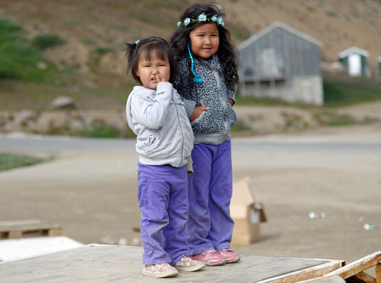 2018: Inuitmädels auf Grönland