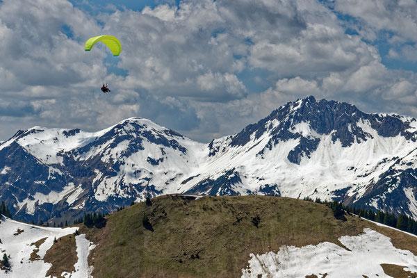 2021: Tannheimer Tal, Flieger. Österreich