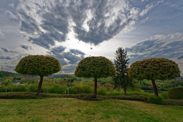 2021: Der Blick im Frühjahr auf das Neckartal
