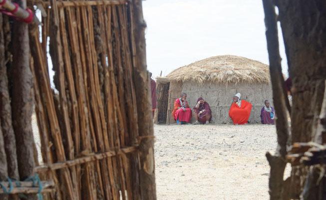 2016: Massaidorf in Tansania