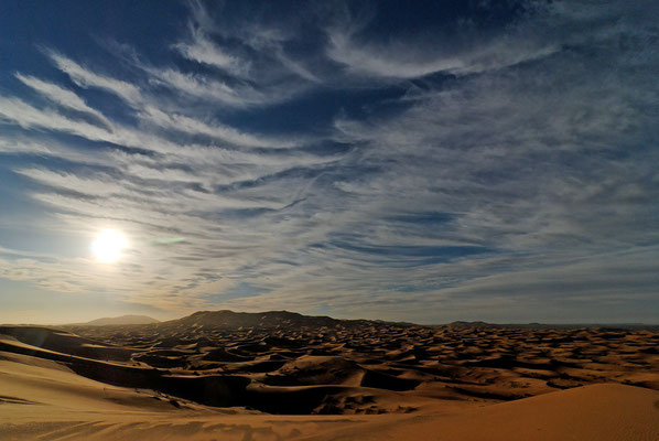 2008: Morgenstimmung in der Sahara (Marokko)