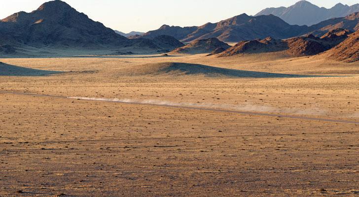 2014: Pistenfahrt in der Namib-Wüste, Namibia