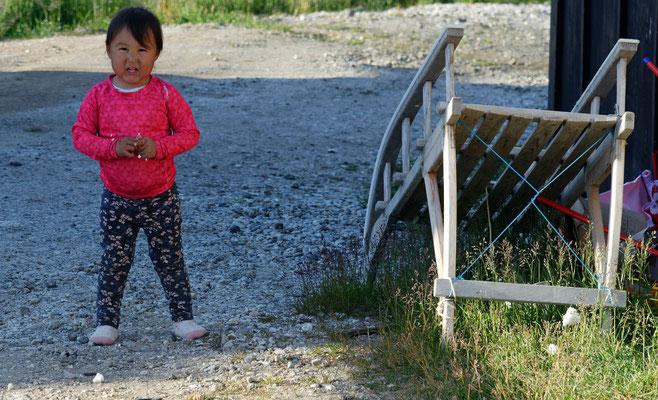 2018: Inuitkind auf Grönland