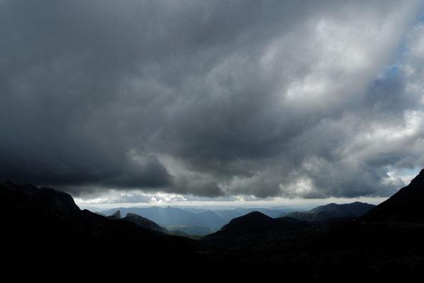 2013: Schweres Wetter in der Sierra Nevada (Andalusien)