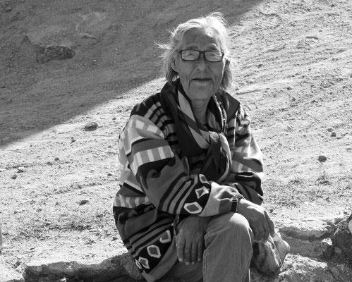 2018: Inuitfrau auf Grönland