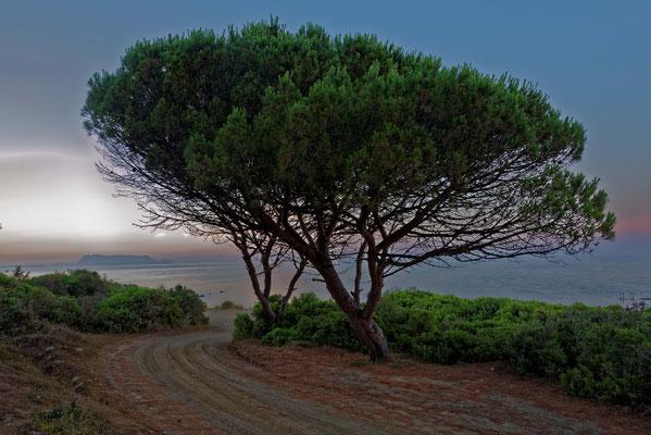 2017: Abendstimmung auf Sardinien
