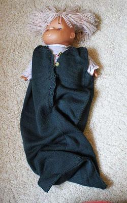 Schlafsack aus reiner Wolle