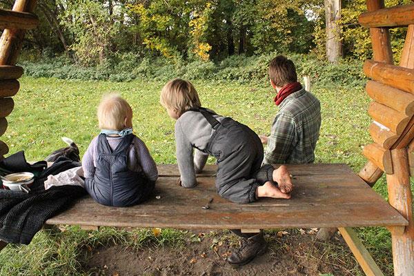 3 Männer: 3 Teile von ritsch-ratsch: Babypullover + Outdoorpullover + Halsteil