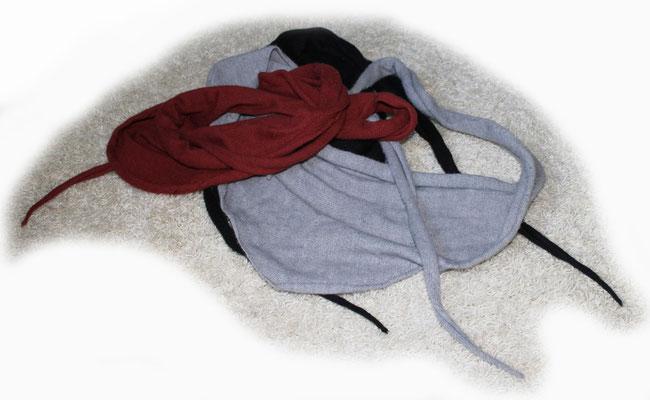Halstücher aus Wolle mit Microfaseranteil, einfarbig, für Kinder und Erwachsene > 30 €