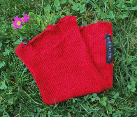Wämschen als Geschenk für ein Neugeborenes; Wolle mit Microfaser; 33 €