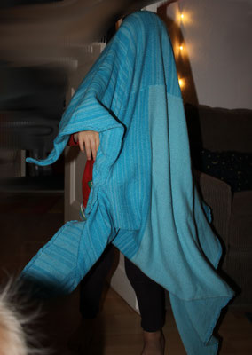 Babydecke aus Kaschmir bereitet auch Jahre später noch Freude