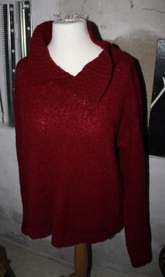 sehr leichter + sehr warmer Pullover, extra groß und gemütlich