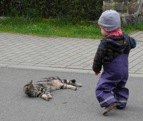Babyjacke auch noch beim Kleinkind im täglichen Gebrauch