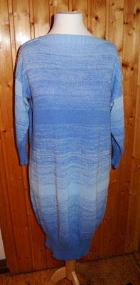 blaues Kleid mit Farbverlauf, Synthetik, etwa 35 Jahre alt
