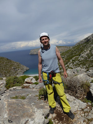 Daniel Fritschi auf Kalymnos