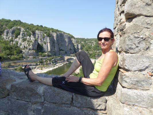 Denise Sigg in Südfrankreich