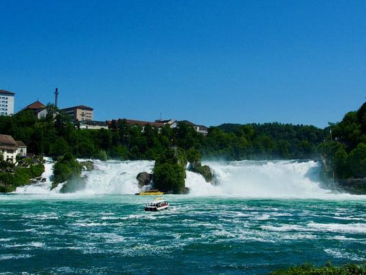 Grand Tour of Switzerland, Rheinfall.