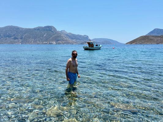 Pirate Beach auf Kalymnos