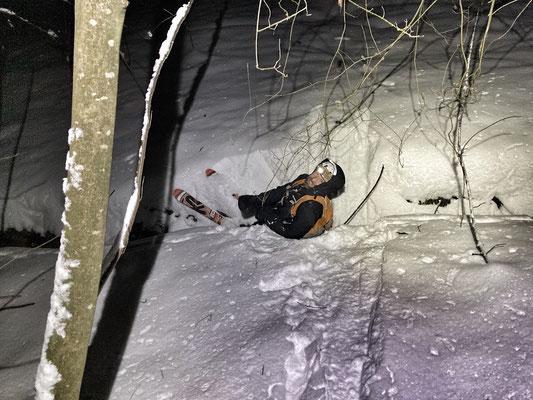 Daniel Fritschi Skitour auf das Albishorn