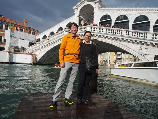 Denise Sigg und Daniel Fritschi in Wenedig