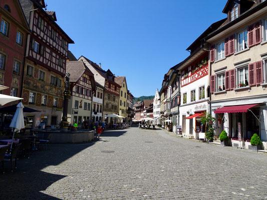 Grand Tour of Switzerland, Stein am Rhein.