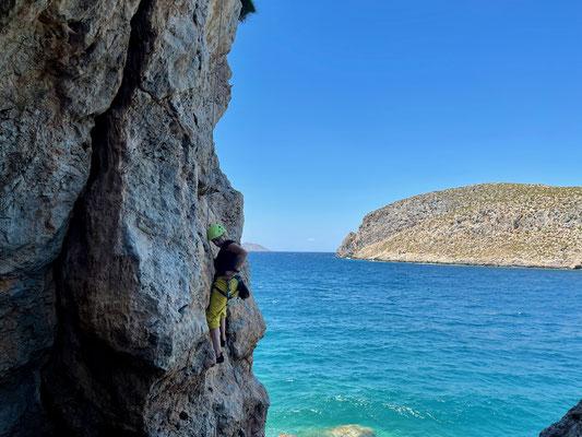 Sektor The Beach auf Kalymnos