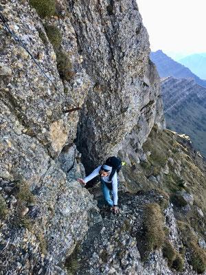Klettersteig Speere