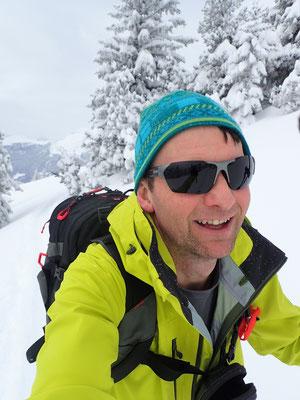 Daniel Fritschi auf dem Alpspitz