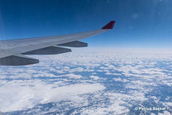 Über Norwegen