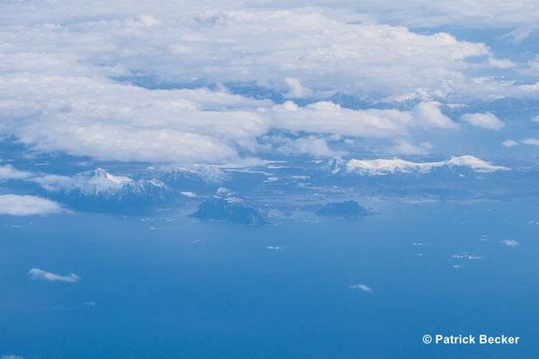 Über der Bäreninsel