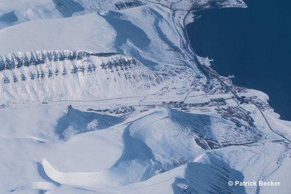 Longyearbyen in Spitzbergen