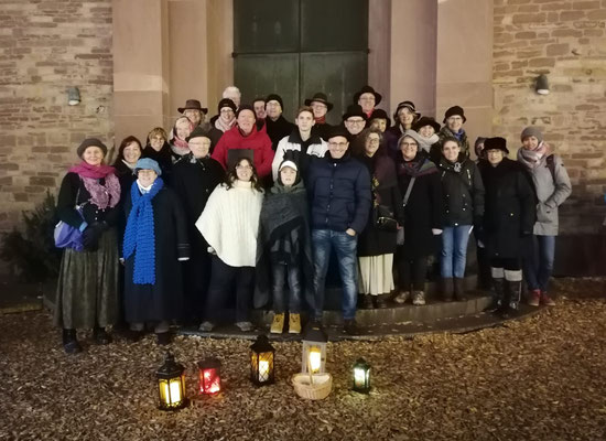 Carol Singers in Karlsruhe