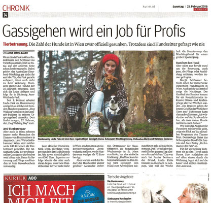 Quelle: KURIER - Chronik, 21.2.2016