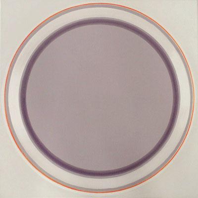 disc.  XXII  100x100 cm    2009    acryl auf leinwand