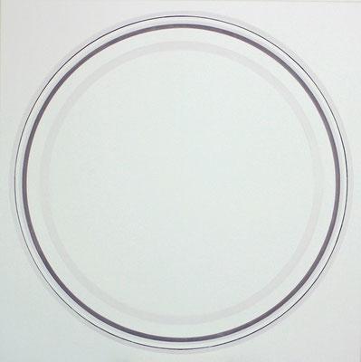kreise.XLVI   100 x 100 cm    acryl auf leinwand