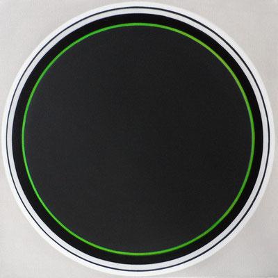 kreise.XXVI  50 x 50 cm   2007   acryl auf leinwand