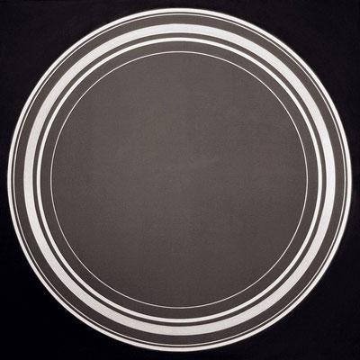 kreise. XLVIII  100 x 100 cm   2014   acryl auf leinwand