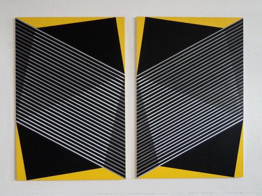untitled.LIX /1&2    2 x 150x100cm   2015   acryl auf mdf