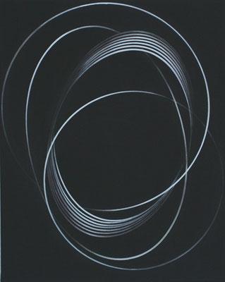 impuls.schleife VI   2008  50 x 40 cm    acryl auf leinwand