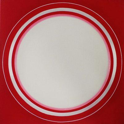 disc.XX   50 x 50 cm    2009    acryl auf mdf