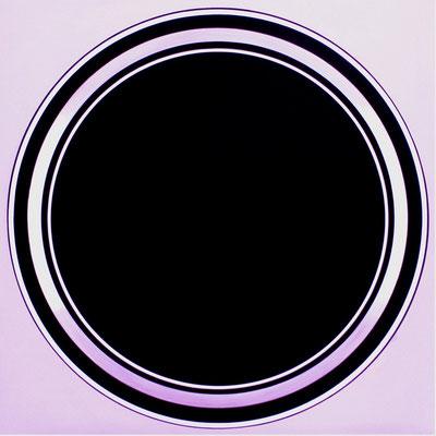 kreise.XIV   90 x 90 cm  2007    acryl auf mdf