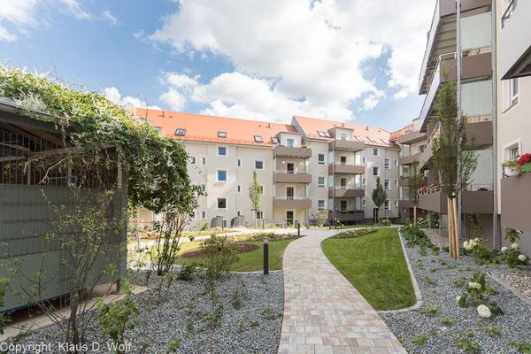 Immobilienfotograf München: Sanierung Wohnanlage Regensburg