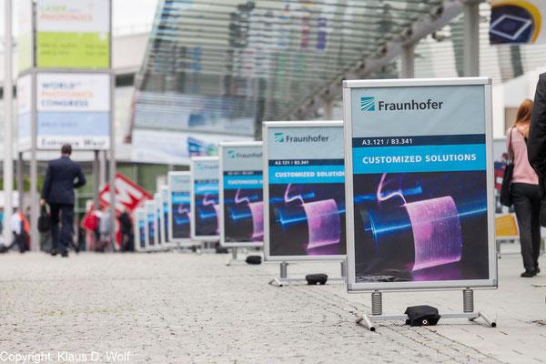 Laser World of Photonics, Messe München