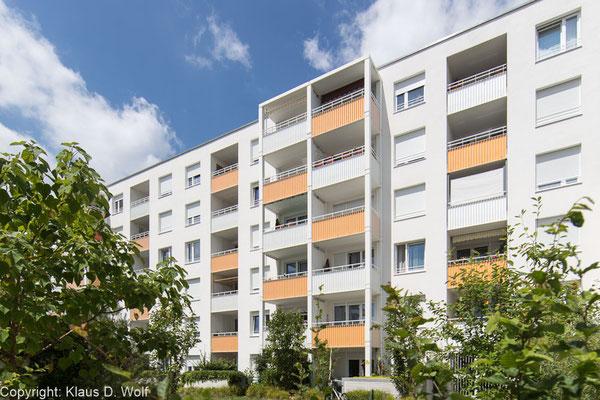 Immobilienfotograf München: Wohnanlage Regensburg
