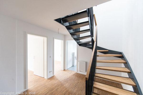 Immobilienfotograf München, Reportage Wohnbauprojekte Nürnberg, Interior