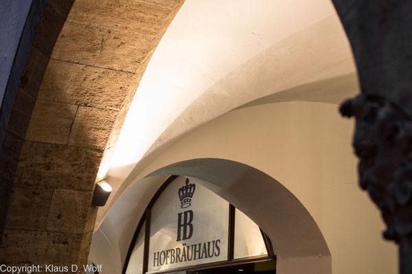 Architekturfotografie: PR-Fotos, neue Beleuchtung des Hofbräuhauses München