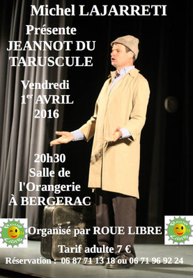 le spectacle du 1er avril