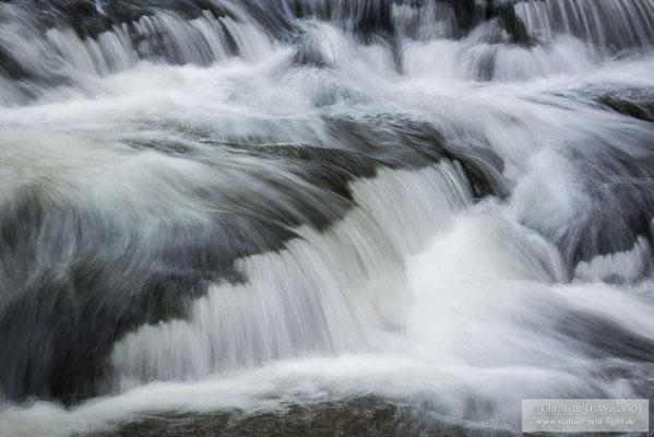 Wasserfall in der Sächsischen Schweiz