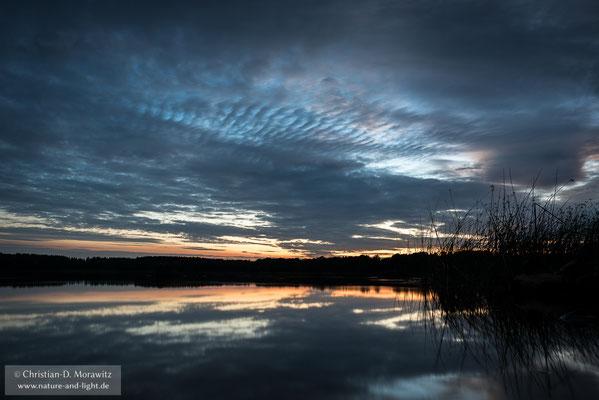 Abenddämmerung am Bosarpasjön