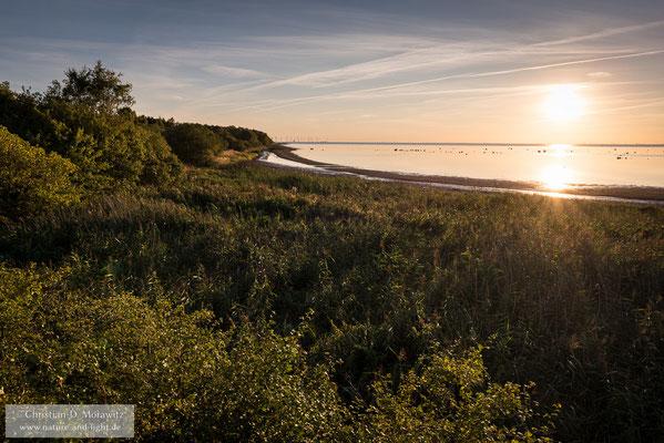 Sonnenuntergang an der Ostsee bei Bunkeflostrand nahe Malmö